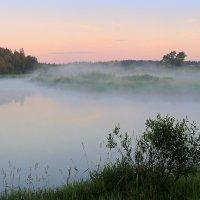 Ах, эти летние туманы по утру..... :: Павлова Татьяна Павлова