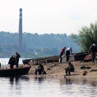 рыбаки :: petyxov петухов
