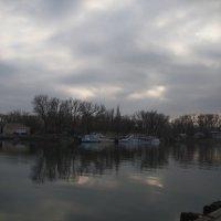 Донской вечер, февраль :: Леонид