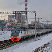 Электропоезд ЭД4М-0451 :: Денис Змеев