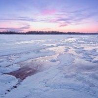 Закат в фиолетовых тонах :: Егор Балясов