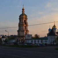 Новоспасский монастырь весной :: Галина R...