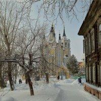 Воскресенская церковь. Томск :: Евгения Семененко