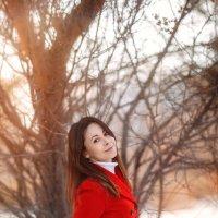 По весеннему зимний портрет :: Александра Гилета