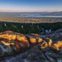 На вершине хребта Зюраткуль :: Альберт Беляев