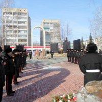 Открытие мемориала Воинское Братство. :: Мила Бовкун