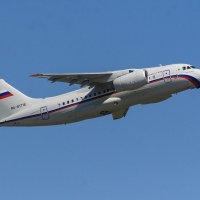 Ан-148 еще пока в воздухе :: Валерий Смирнов