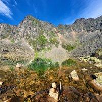 Каменное дно высокогорного озера :: Виктор Никитин