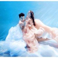 Свадьба под водой :: Slava Grebenkin