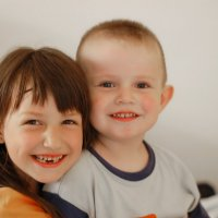 Братик и сестричка :: Дмитрий Моисеев