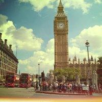 Big Ben postcard :: Dasha Ald