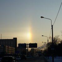 Зимняя радуга в Питере :: Юрий Плеханов