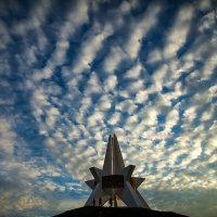 """Небо над Курганом"". :: Slava Rogov"