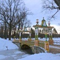 китайский мостик в Пушкине :: Елена