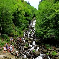 Молочный водопад ...Абхазия :: Светлана