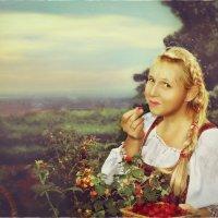 Поспела малина :: Olga Zhukova