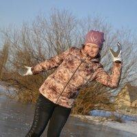 Весёлое катание на коньках.... :)))))))) :: Ирина Жеребятьева