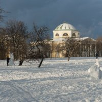 Зима вернулась... :: Марина Павлова