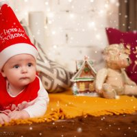 Подрастающая смена Деда Мороза :: Любовь Советова