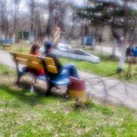 Мальчик с девочкой отдыхали... :: Андрей Селиванов