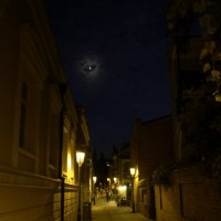 ночь. улица. фонарь. :: Andrew A