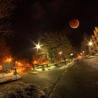 Луна у дома моего... :: АндрЭо ПапандрЭо