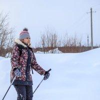 Маленькое путешествие на лыжах :: Дмитрий Стёпин