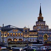 Москва. Казанский вокзал. :: Ирина Нафаня