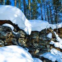 Снежные шапки :: Сергей Алексеев