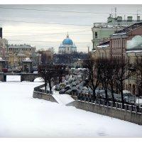 Вид вдоль Фонтанки и на мост Ломоносова :: sv.kaschuk