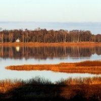 Вечер на озере Кучане. :: Нина