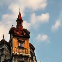 Где-то в Праге :: Виктория Бондаренко