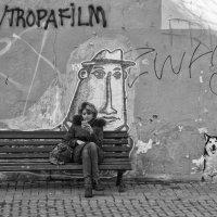 Лавочка у стены :: Александр Степовой