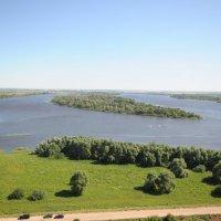Река Кама. Город Елабуга. :: Сергей Тагиров