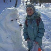 Снежный лёва. :: Мария Владимирова