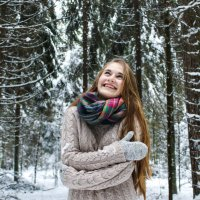 Зимний лес :: Tatyana Vaitsekhovich