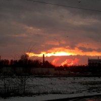 закат на промзоне :: Александр Прокудин