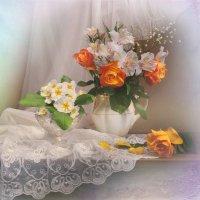 Первоцветы...и не только... :: Валентина Колова