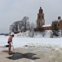 У крещенской проруби :: Николай Белавин