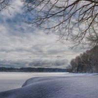 Зимний пейзаж :: Иван Анисимов
