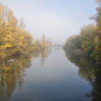 Утренняя дымка над рекой :: Сергей Тагиров