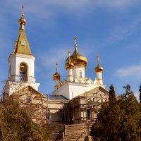 Ремонт храма :: Виктор Шандыбин