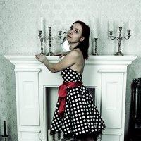 Моя супруга в фотостудии :: Андрей Ситников