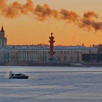 Зимний вечер в Петербурге. :: Наталья Иванова