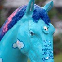 конь бирюзовый :: александр