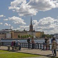 на набережной Стокгольма :: ник. петрович земцов