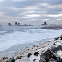 туманное утро марта после циклона :: Ingwar