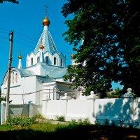 сельская церковь :: Люша
