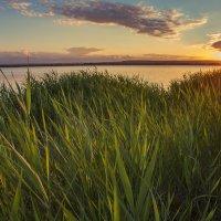 Закат на Нововоронежском  водохранилище :: Юрий Клишин