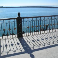 Сочи, море. Вид на авкаторию с верхней галереи морского вокзала :: Булаткина Светлана